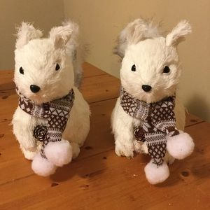 Pier One Imports Natural Squirrel Set of 2